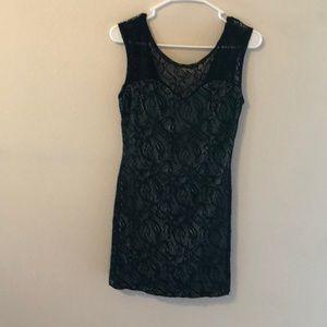 Dresses & Skirts - Black netted dress